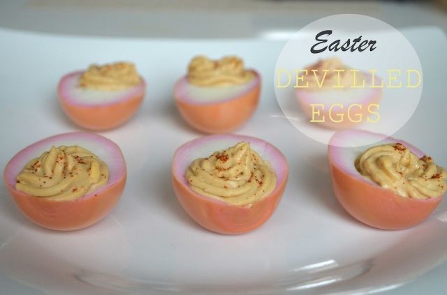 Easter Devilled Eggs