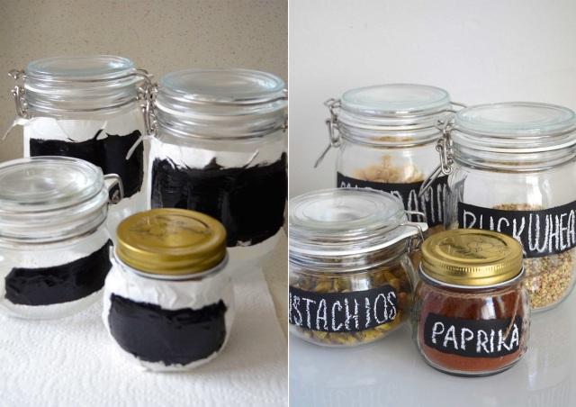Jars in progress