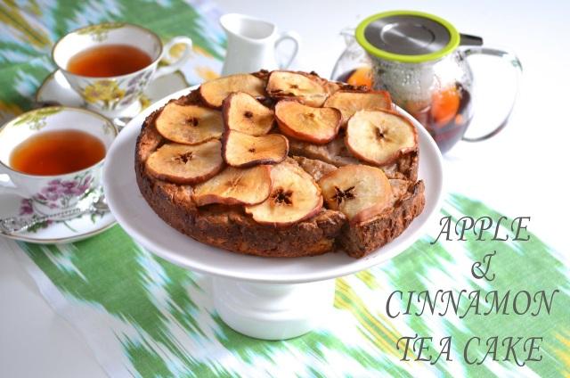Apple and Cinnamon Tea Cake