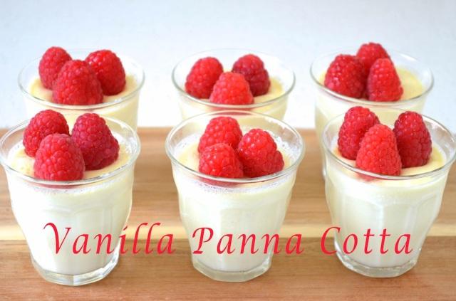 Vanilla Panna Cotta adj